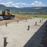 Modular Home Helical Post Foundation