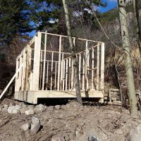 Shed Helical Post Foundation
