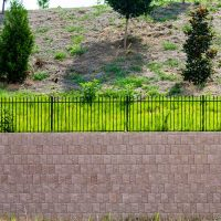 retaining wall structure foundation